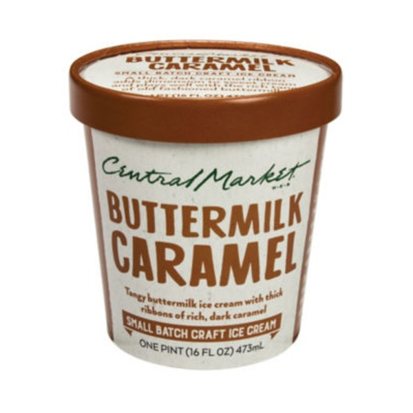 Central Market Buttermilk Caramel Ice Cream