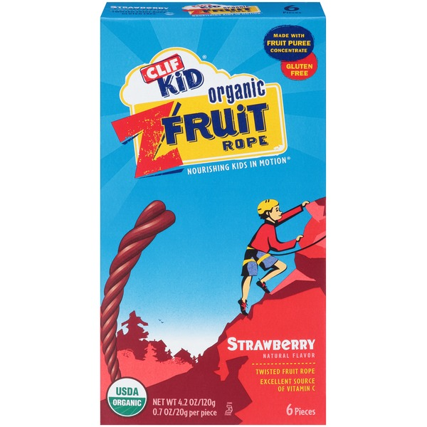 Clif Kid® Organic Strawberry ZFruit Rope