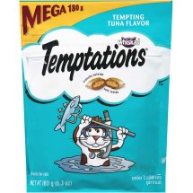 TEMPTATIONS Classic Treats for Cats Tempting Tuna Flavor 6.3 Ounces