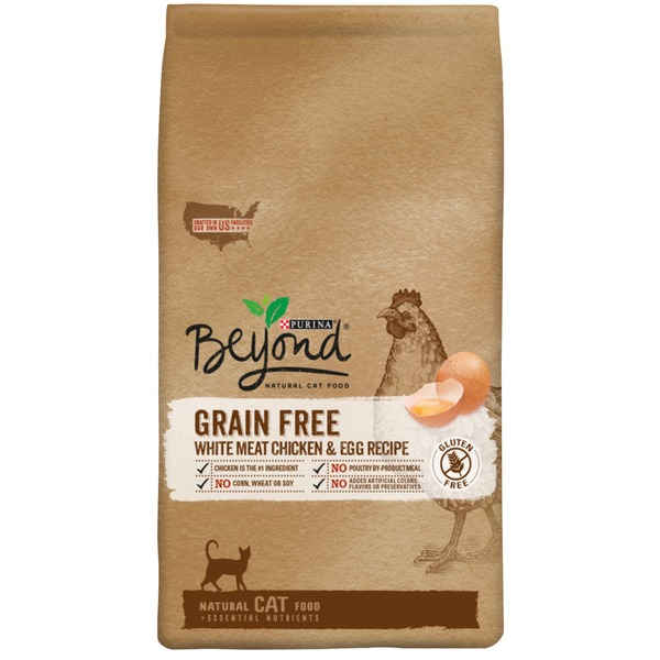 Beyond Cat Dry Grain Free White Meat Chicken & Egg Recipe Cat Food