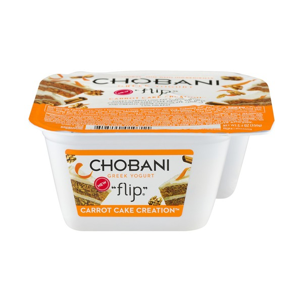 Kroger Chobani Flip Carrot Cake Creation LowFat Greek Yogurt