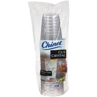 Chinet Cut Crystal 14 oz. Plastic Plastic Cups