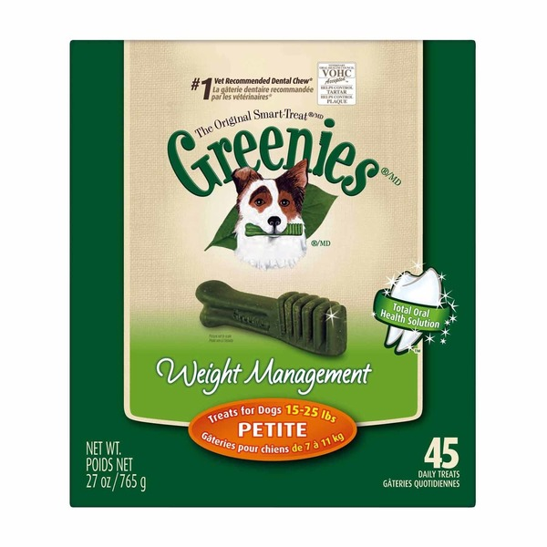 Greenies Weight Management Petite Dog Treats