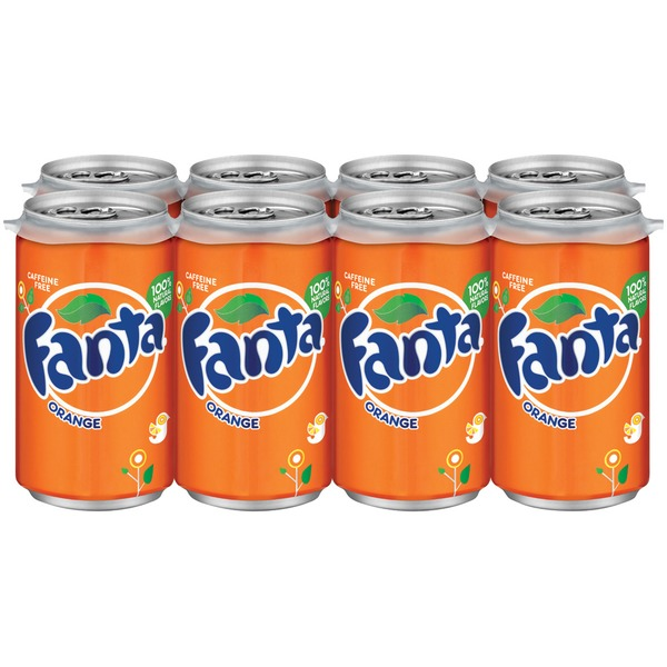 Fanta Orange 7.5 Oz Soda