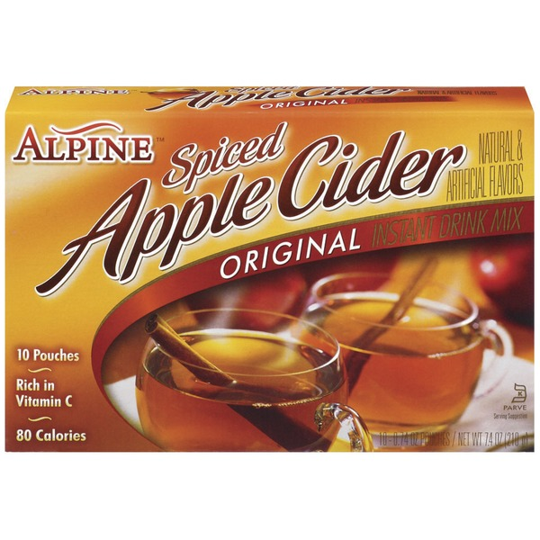 Alpine Spiced Apple Cider Original Instant Drink Mix