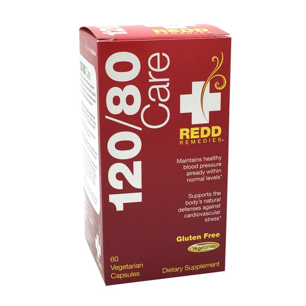 Redd Remedies 120/80 Care Blood Pressure Maintenance  Capsules