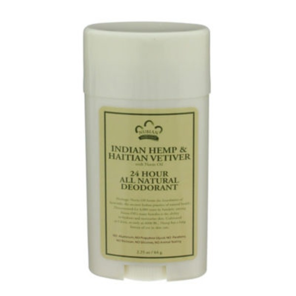 Nubian Heritage 24 Hour Deodorant Indian Hemp & Haitian Vetiver