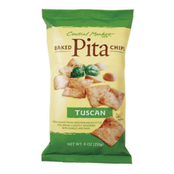 Central Market Tuscan Baked Pita Chips