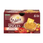 Sabra Hummus Singles Roasted Red Pepper - 6 Ct