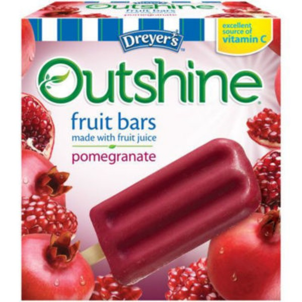 Dreyer's Outshine Pomegranate Fruit Bars