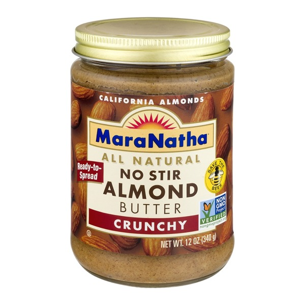 Maranatha No Stir Almond Butter Crunchy