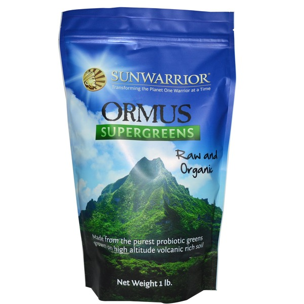 Sunwarrior Ormus Supergreens Raw and Organic