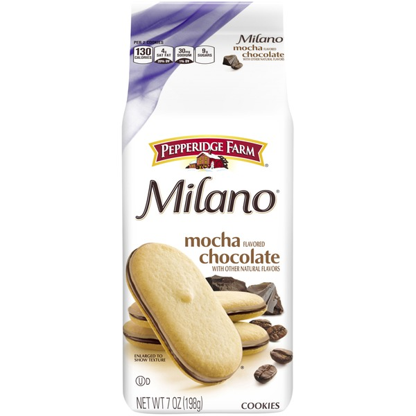 Pepperidge Farm Cookies Milano Mocha Chocolate Cookies