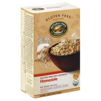 Nature's Path Gluten Free Maple Nut Hot Oatmeal