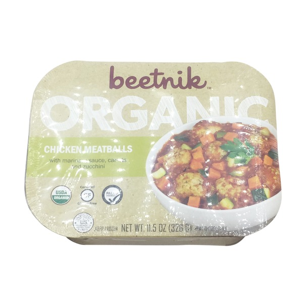 Beetnik Organic Chicken Meatballs