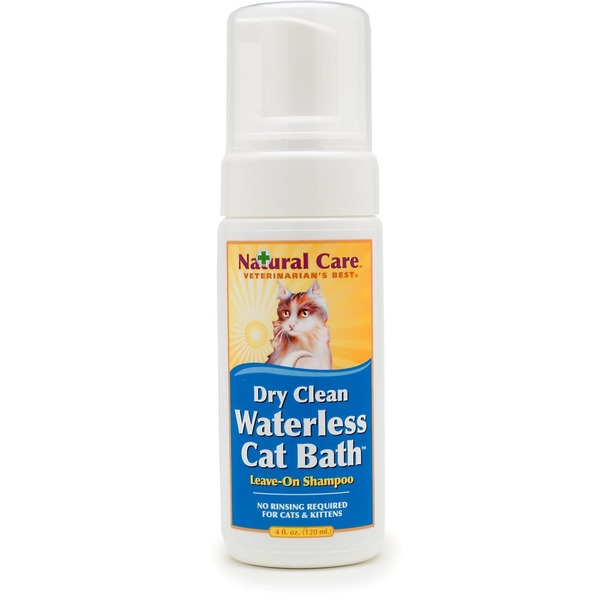 Vet's Best Natural Formula Dry Waterless Cat Bath