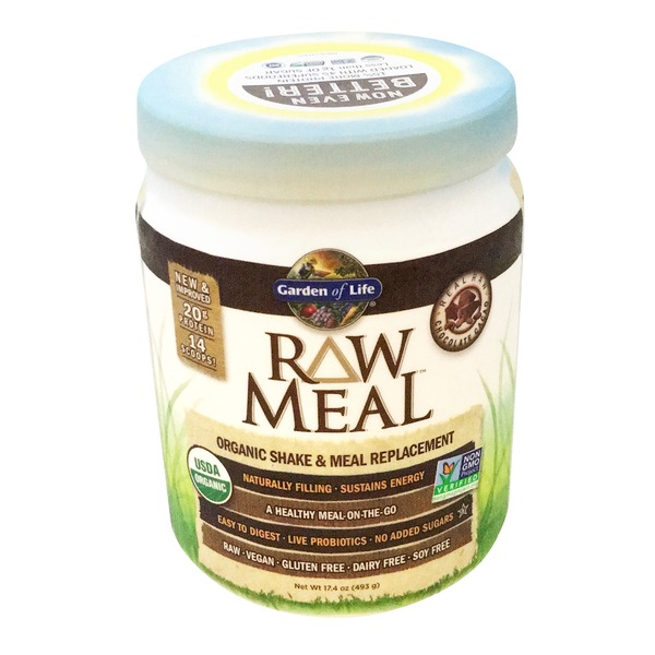 Garden of Life Raw Meal Chocolate