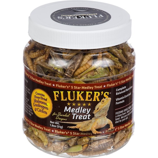 Fluker's Medley Treat For Bearded Dragons 1.8 Oz.