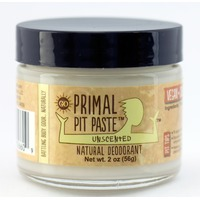 Primal Pit Paste Unscented Natural Deodorant