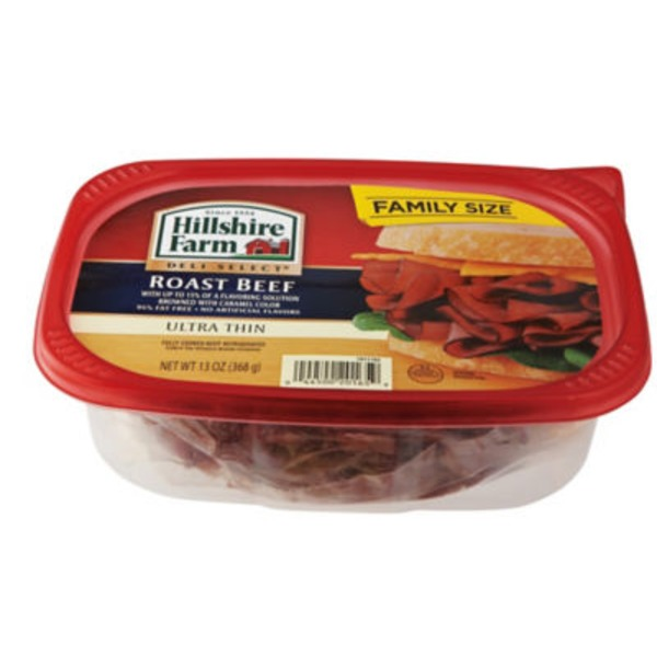 Hillshire Farm Deli Select Ultra Thin Roast Beef Lunch Meat