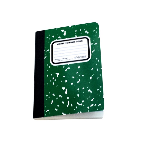 Top Flight Composition Book, Narrow Rule, 80 Sheets