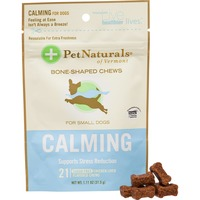 Pet Naturals Of Vermont Small Dogs Calming Sugar Free Chicken Liver Flavored Chews