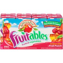 Apple & Eve Fruitables Juice Drink, Fruit Punch, 6.75 Fl Oz, 8 Count
