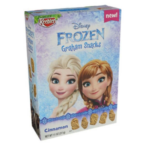 Keebler Disney Frozen Cinnamon Graham Snacks