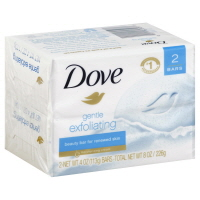 Dove Bar Soap Gentle Exfoliating - 2