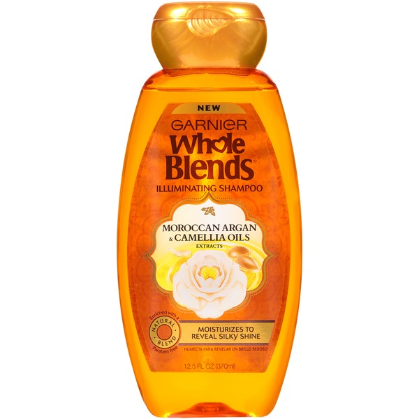Whole Blends Moroccan Argan & Camellia Oils Extracts Illuminating Shampoo