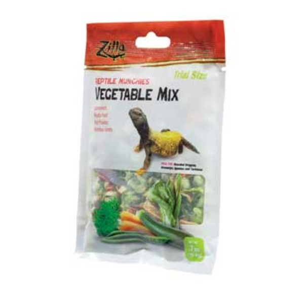 Zilla Vegetable Reptile Munchies Reptile Food .7 Oz.