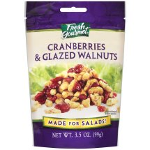 Fresh Gourmet Cranberries & Glazed Walnuts 3.5 Oz Peg