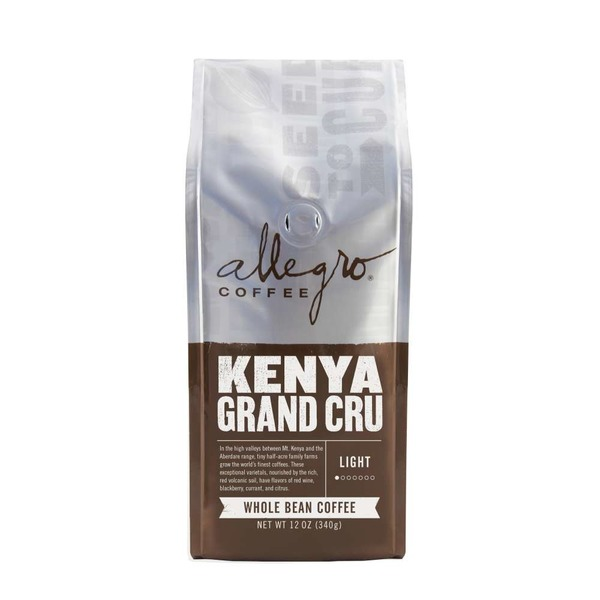 Allegro Kenya Grand Cru Whole Bean Coffee