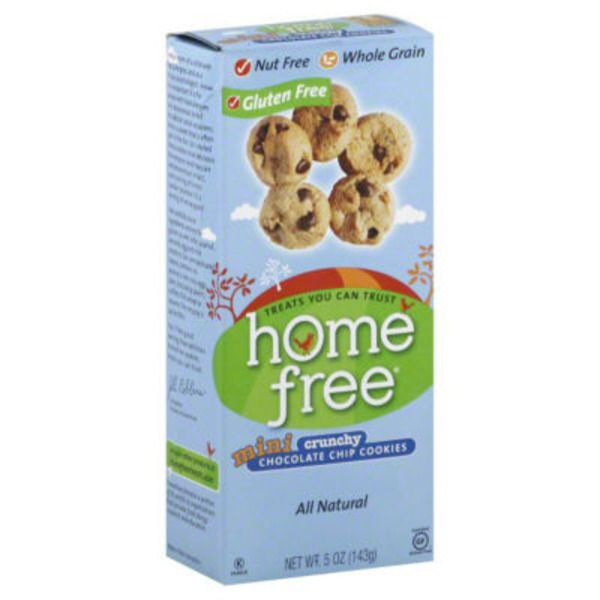 Homefree Mini Crunchy Chocolate Chip Cookies