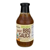 Woodstock Farms Organic BBQ Sauce Hickory