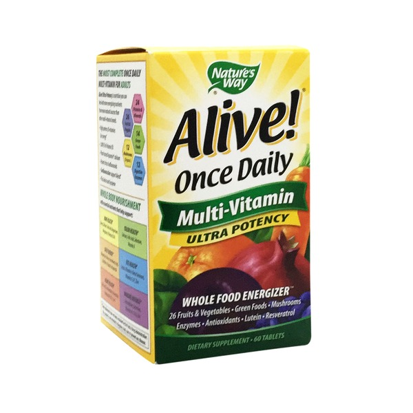 Nature's Way Alive! Once Daily Multi Vitamin Tablet