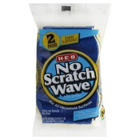 H-E-B No Scratch Wave Scrub Sponge