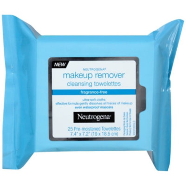Neutrogena® Cleansing Toweletts Fragrance-Free Makeup Remover