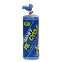 Ruffies Extra Large Trash Sort & Recycle Blue Twist Tie 33 Gal  Trash Bags