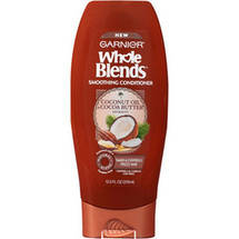 Garnier Whole Blends Coconut Oil & Cocoa Butter Extracts Smoothing Conditioner