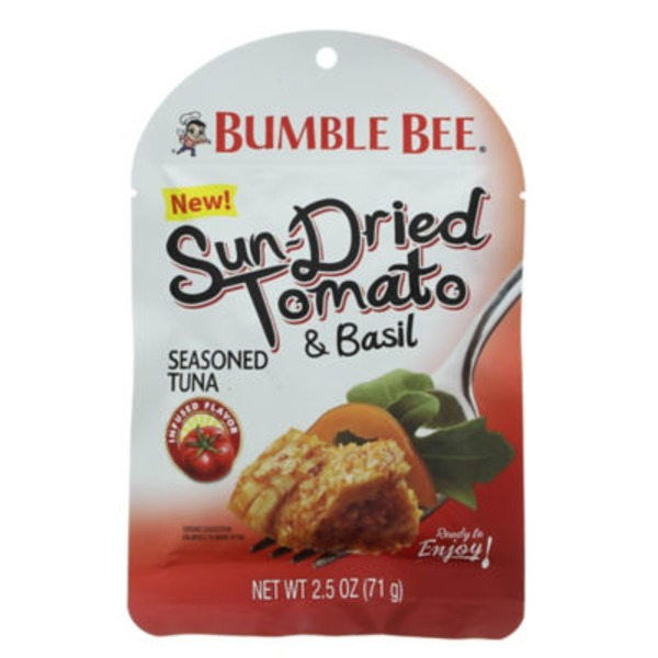 Bumble Bee Ready To Eat Sun-Dried Tomato & Basil Seasoned Tuna
