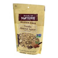 Back to Nature Granola Vanilla Almond Agave