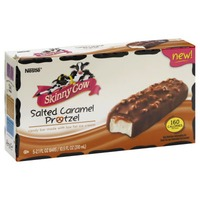 Skinny Cow Salted Caramel Pretzel Candy Bar Made with Low Fat Ice Cream