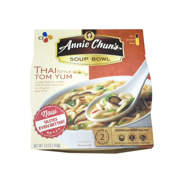 Annie Chuns Thai Style Tom Yum Noodle Soup Bowl