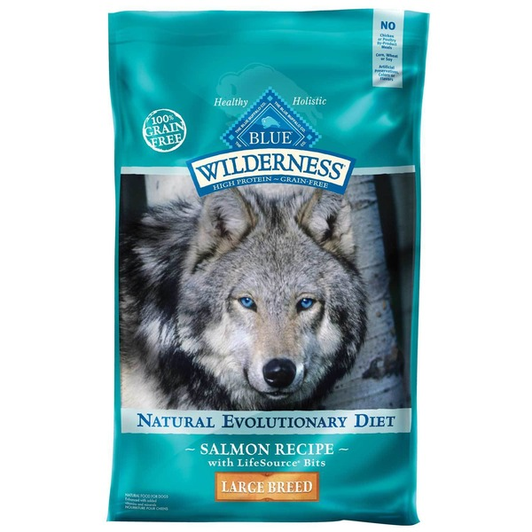 Blue Buffalo Wilderness Natural Evolution Diet Large Breed Salmon Recipe Dog Food