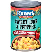 Kuner's Southwestern with Red & Green Peppers Sweet Corn & Peppers