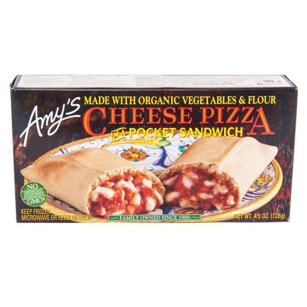 Amy's In A Pocket Sandwich Cheese Pizza
