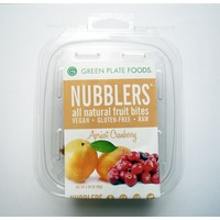 Green Plate Foods Nubblers All Natural Fruit Bites Apricot Cranberry