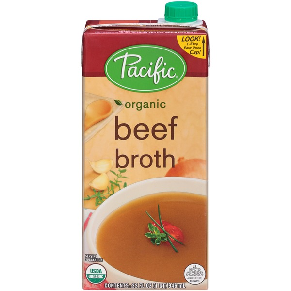 Pacific Organic Beef Broth