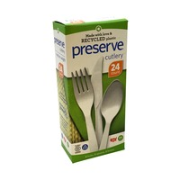 Preserve Assorted Plastic Cutlery